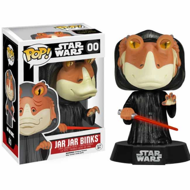 The Darth Jar-Jar Figure All S... is listed (or ranked) 2 on the list 20 Of The Best Fan-Made Funko Pop! Toys For The Nerd Who Has It All