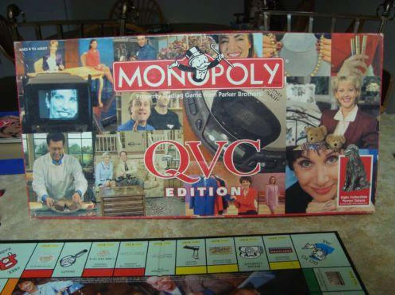 Monopoly: QVC Edition is listed (or ranked) 4 on the list The 15 Most Unnecessary Versions Of Monopoly In Human History