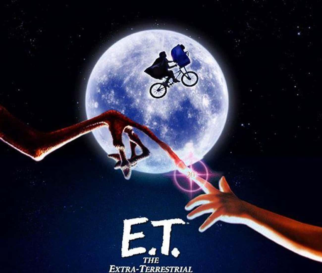 """""""E.T. The Extra-Terrestria is listed (or ranked) 3 on the list The Dark Story Behind The Canceled Sequel To 'E.T. The Extra-Terrestrial'"""
