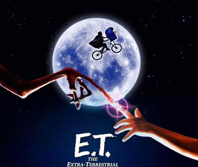 """E.T. The Extra-Ter... is listed (or ranked) 3 on the list The Dark Story Behind The Canceled Sequel To 'E.T. The Extra-Terrestrial'"