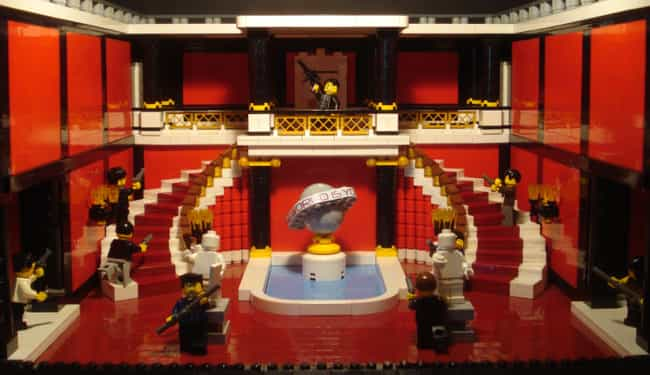 Scarface Says Hello To His Lit... is listed (or ranked) 2 on the list Check Out 14+ Of Your Favorite Movie Scenes Brilliantly Recreated With LEGOs