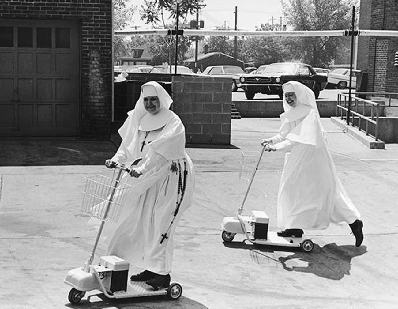 Hospital Administrator Sister  is listed (or ranked) 2 on the list 16 Photos Of Nuns Living Life Just Like The Rest Of Us