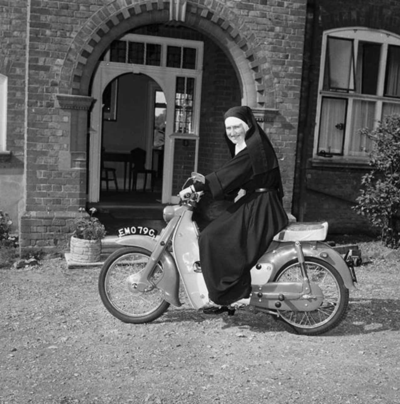Sister Mary Bernadette, Former is listed (or ranked) 1 on the list 16 Photos Of Nuns Living Life Just Like The Rest Of Us