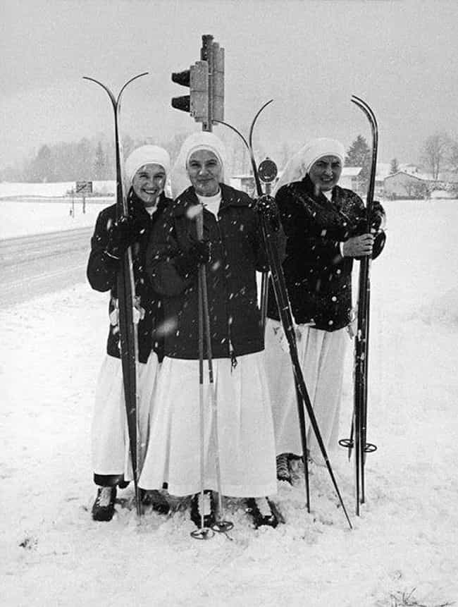 German Nuns From A Children&#3... is listed (or ranked) 1 on the list 16 Photos Of Nuns Living Life Just Like The Rest Of Us