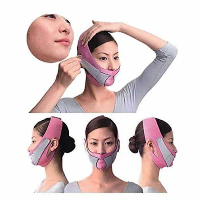 The Anti Wrinkle Cheek Slimmin... is listed (or ranked) 1 on the list Weird And Terrifying Beauty Gadgets That Claim They'll Transform Your Face Without Plastic Surgery