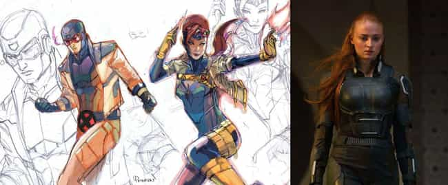 Flashy Cyclops And Jean ... is listed (or ranked) 3 on the list These Fans Redesigned Marvel Costumes, And They're Awesome