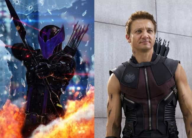 Hawkeye With A Helmet is listed (or ranked) 1 on the list These Fans Redesigned Marvel Costumes, And They're Awesome