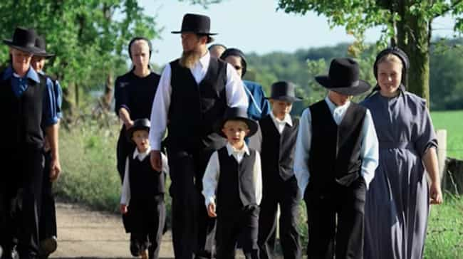 Returning To The Church Is Rar... is listed (or ranked) 4 on the list Being Excommunicated From Amish Society Is A Cold, Brutal, And Heartless Process