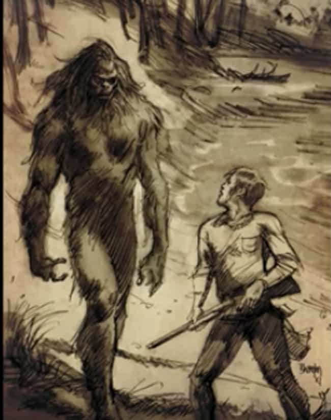 In The 1960s, A Boy Claimed He... is listed (or ranked) 2 on the list The Fouke Monster Of Boggy Creek Has Been Terrifying People And Eating Pets For Years