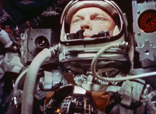 "John Glenn Described Wha... is listed (or ranked) 1 on the list The Mystery Of The ""Fireflies"" That Swarmed John Glenn's Spaceship"