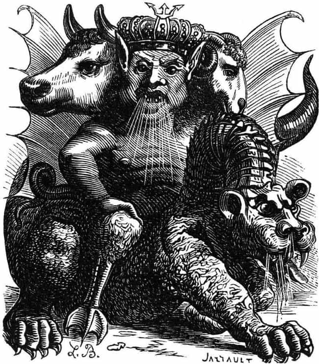 Asmodeus Is The Demon Of... is listed (or ranked) 6 on the list The Creepiest Old Demon Illustrations That Are Sure To Give You The Spooks