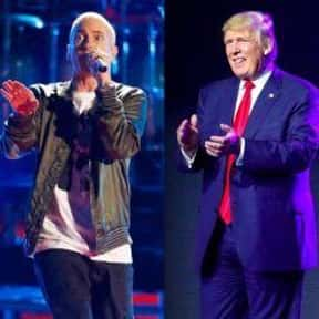 Eminem's Donald Trump Rap is listed (or ranked) 15 on the list All the Things That Were a Thing in 2017, Ranked