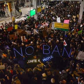 The Travel Ban is listed (or ranked) 14 on the list All the Things That Were a Thing in 2017, Ranked