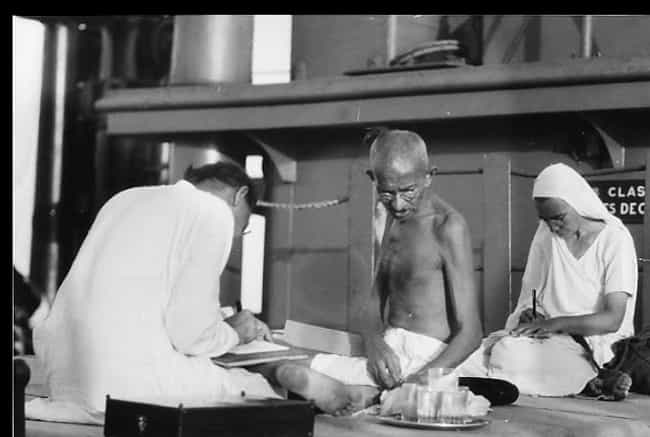He Saw Menstruation As An Indi... is listed (or ranked) 3 on the list Gandhi Made It His Mission To Make Sure Women Were Treated As Second-Class Citizens In India
