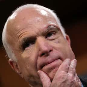 John McCain's Healthcare Vote is listed (or ranked) 21 on the list All the Things That Were a Thing in 2017, Ranked