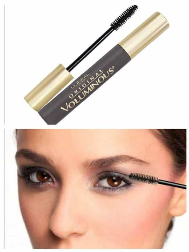 L'Oreal Paris Voluminous... is listed (or ranked) 4 on the list The Best Drugstore Mascaras