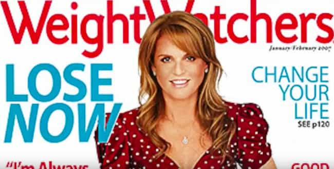 She Was The Face Of Weight Wat... is listed (or ranked) 4 on the list Sarah Ferguson Might Just Be The Most Scandal-Plagued Modern Royal
