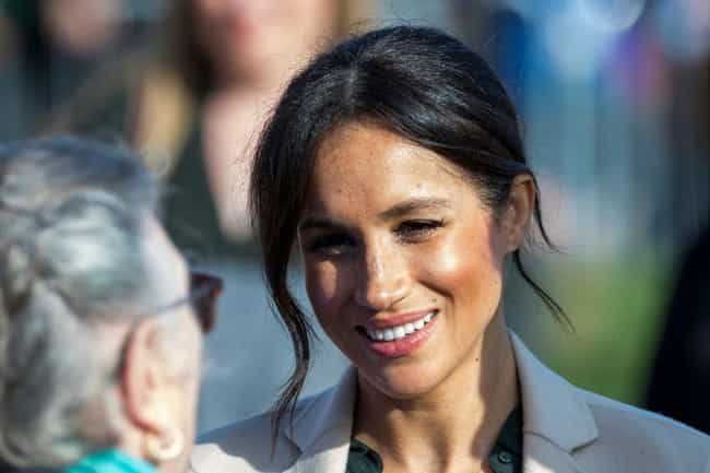 First Thing's First: Meghan Ma... is listed (or ranked) 1 on the list Could Prince Harry And Meghan Markle's Offspring Be President Of The United States One Day?