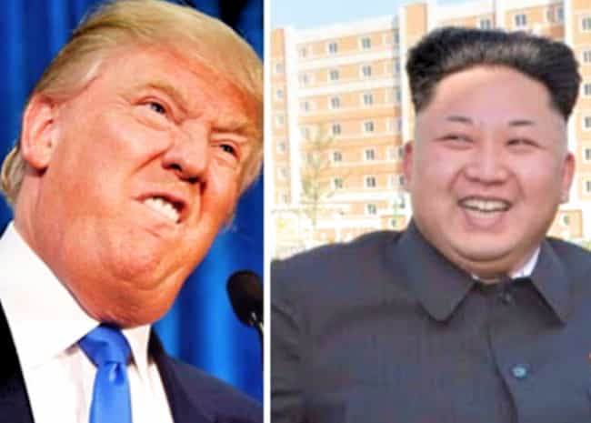 They've Created Some Buzzw... is listed (or ranked) 4 on the list 11 Ways We Can Tell Donald Trump and Kim Jong-un Are Probably The Same Person