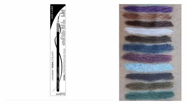 Icon Kohl Eyeliner By Wet N Wi... is listed (or ranked) 4 on the list Beauty Essentials You Can Get For $1 And Under