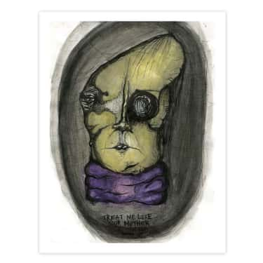 Treat Me Like Your Mother is listed (or ranked) 1 on the list Kurt Cobain's Daughter Makes Disturbing Artwork That Will Scar You For Life