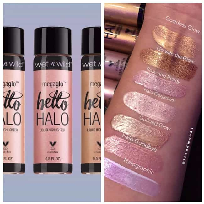 Wet n Wild Hello Halo Liquid H... is listed (or ranked) 2 on the list Beauty Products For The Girl Who Is Obsessed With Glitter