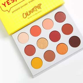 ColourPop Yes Please Eyeshadow is listed (or ranked) 5 on the list Eyeshadow Palettes That No Makeup Junkie Can Live Without