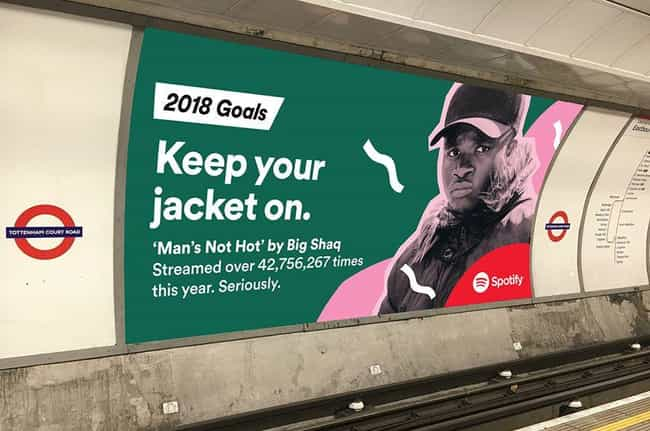 Keep It Cool is listed (or ranked) 3 on the list Spotify Reveals Users' Most Embarrassing Listening Habits For 2017 On Hilariously Giant Billboards