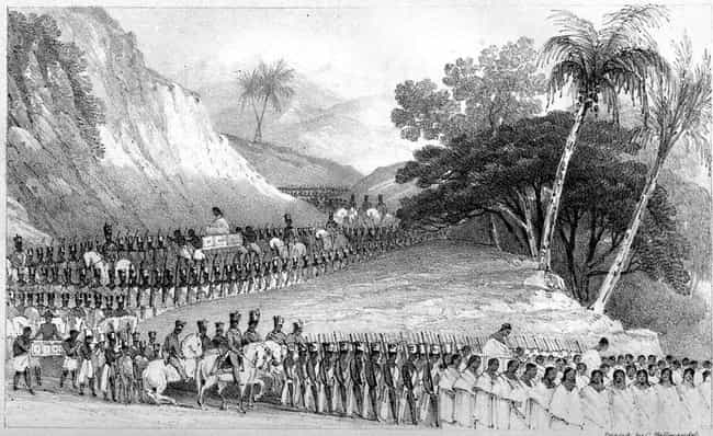 """She Ordered 50,000 Subje... is listed (or ranked) 2 on the list The """"Mad Queen of Madagascar"""" Killed Thousands Of Her Own People Indiscriminately"""