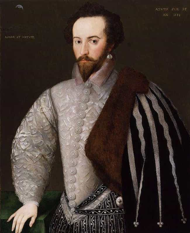 Walter Raleigh Romanced ... is listed (or ranked) 3 on the list Men Wore Way More Jewelry In The Past Than They Do Today, But Why?