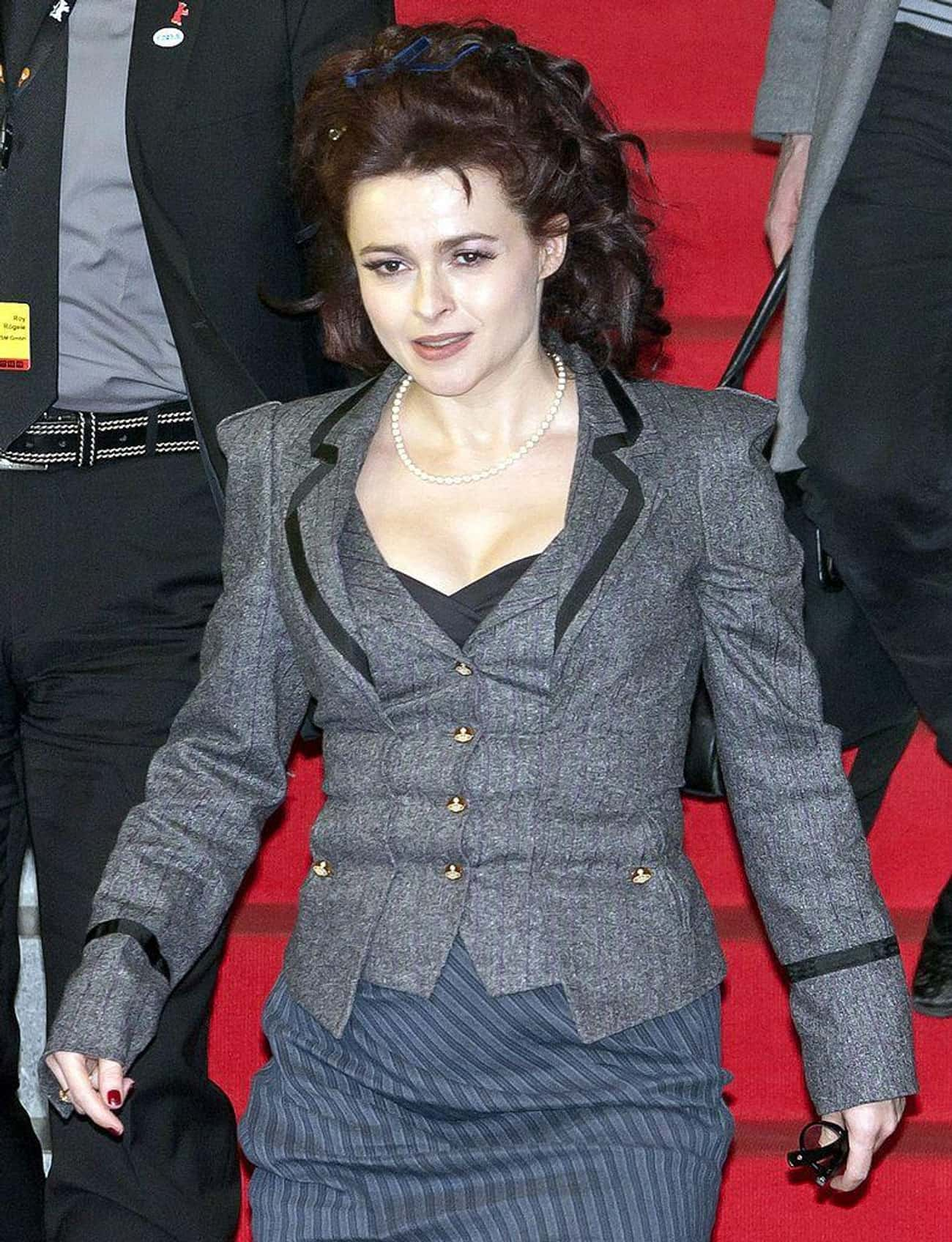She Has Her Own Fashion Line is listed (or ranked) 4 on the list Weirdly Charming And Bizarre Things Most People Don't Know About Helena Bonham Carter