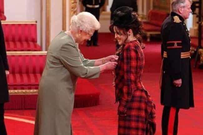 She Was Awarded The Commander ... is listed (or ranked) 1 on the list Weirdly Charming And Bizarre Things Most People Don't Know About Helena Bonham Carter