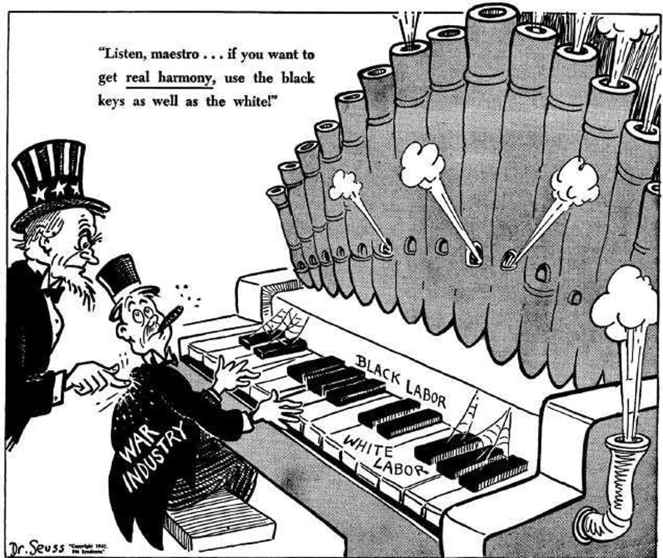 Dr. Seuss Made A Habit Of Creating Racist Cartoons