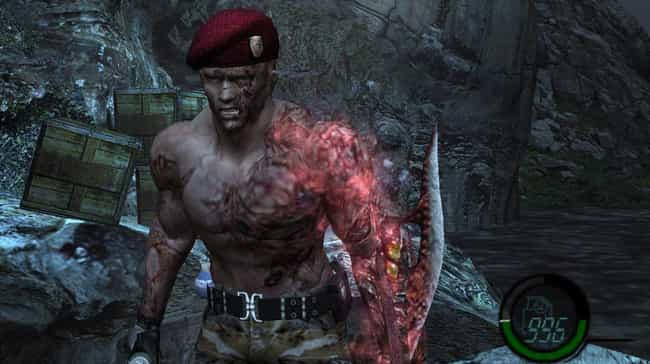 Jack Krauser is listed (or ranked) 2 on the list List Of All 'Resident Evil 4' Bosses Ranked Best To Worst