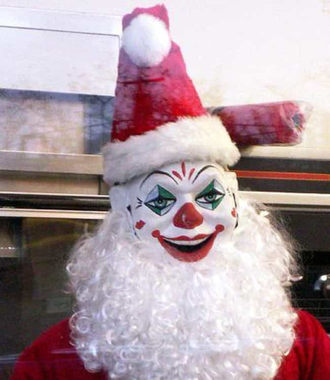 Voyeuristic Santa Watches You ... is listed (or ranked) 4 on the list All The Reasons Christmas Is Actually A Far More Horrifying Holiday Than Halloween