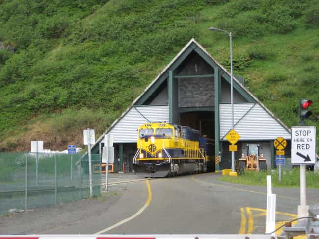 If You Need To Enter Or ... is listed (or ranked) 3 on the list Inside Whittier, Alaska, The Town Where Everyone Lives In The Same Exact Building