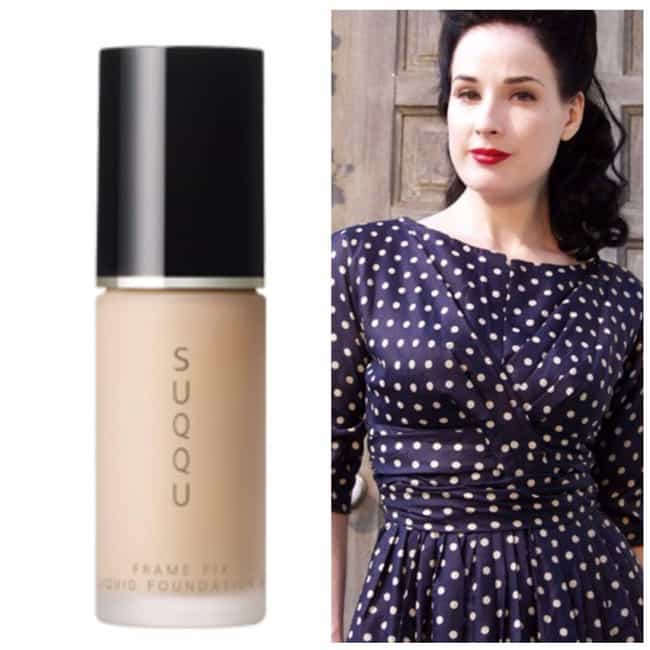Frame Fix Liquid Foundation By... is listed (or ranked) 2 on the list The Best Products To Get A Flawless Pin Up Look