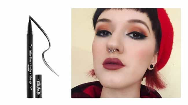 Tattoo Liner In Trooper By Kat... is listed (or ranked) 3 on the list The Best Products To Get A Flawless Pin Up Look