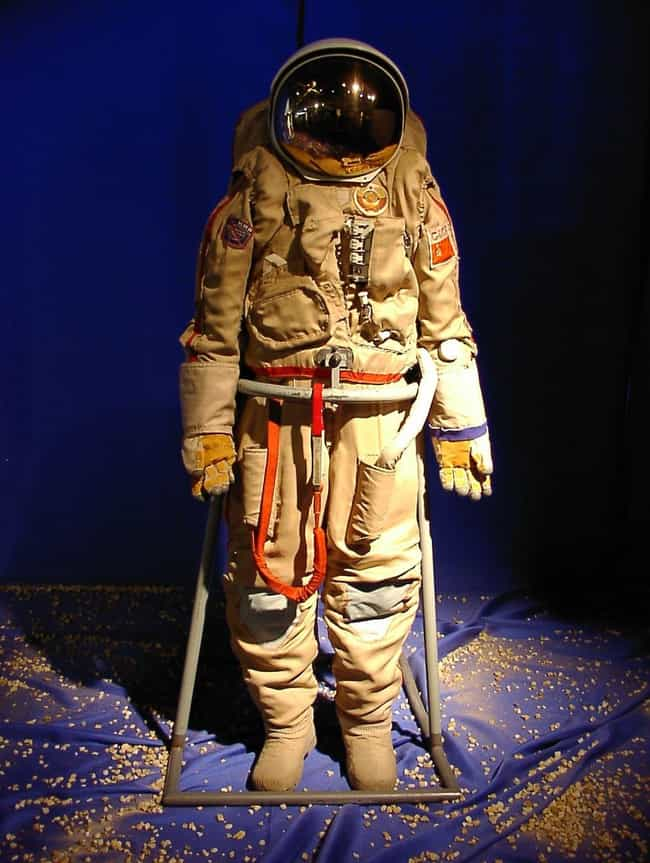 A Spacesuit Could Cause A Body... is listed (or ranked) 4 on the list Realistically, What Happens To A Dead Body In Space?