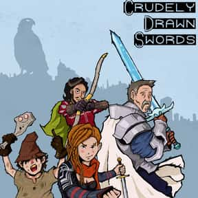 Crudely Drawn Swords is listed (or ranked) 4 on the list The Best Podcasts for Nerds