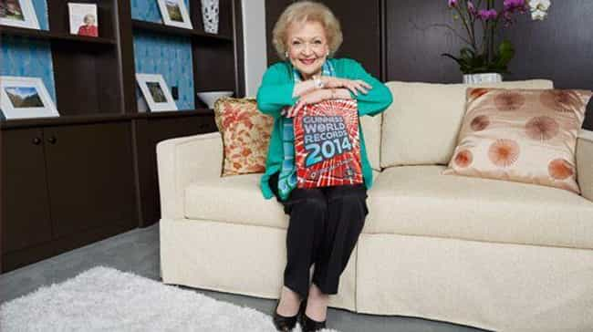 She's A Guinness World Record ... is listed (or ranked) 3 on the list Endearing Things You Never Knew About Betty White, America's Coolest Grandma