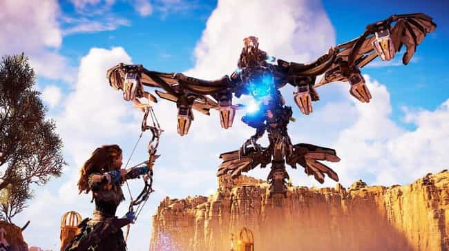 Stormbird is listed (or ranked) 3 on the list List of All Horizon Zero Dawn Bosses Ranked Best to Worst