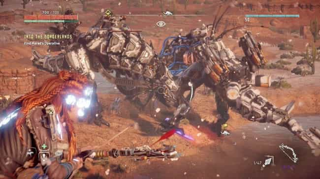 Rockbreaker is listed (or ranked) 4 on the list List of All Horizon Zero Dawn Bosses Ranked Best to Worst