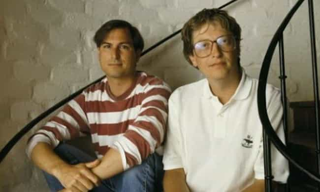 Gates's Relationship With ... is listed (or ranked) 4 on the list How Steve Jobs And Bill Gates Went From Friends To Bitter Enemies
