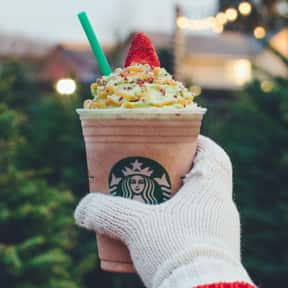 Christmas Tree Frappuccino is listed (or ranked) 20 on the list Starbucks Secret Menu Items