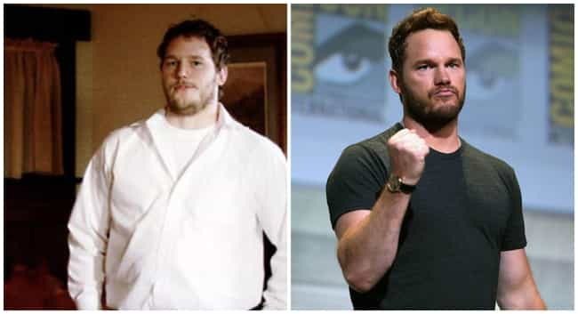 Chris Pratt is listed (or ranked) 1 on the list These Epic Celebrity Glo Ups Will Stop You In Your Tracks