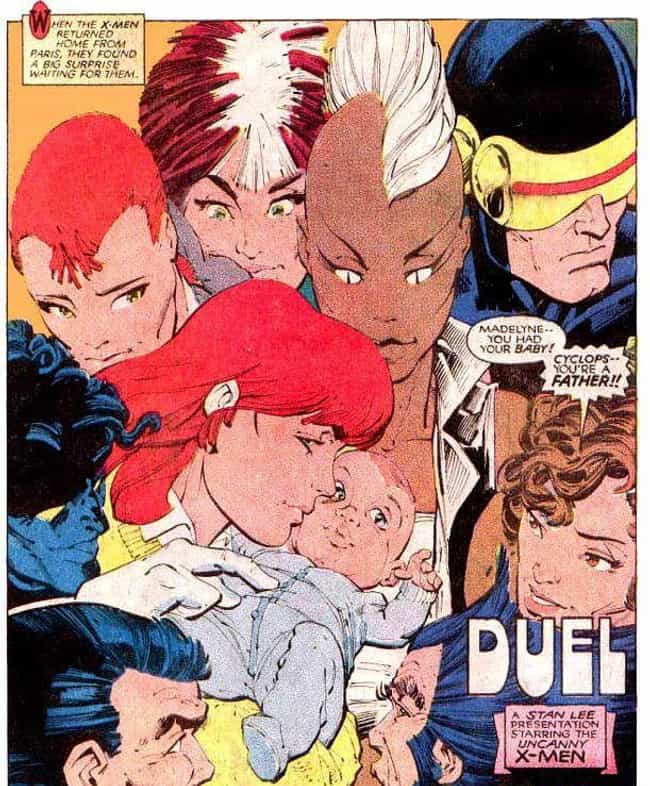 Cyclops Accidentally Rebounds ... is listed (or ranked) 2 on the list Deadpool 2's Cable Has An Uncannily Convoluted Comic Book History