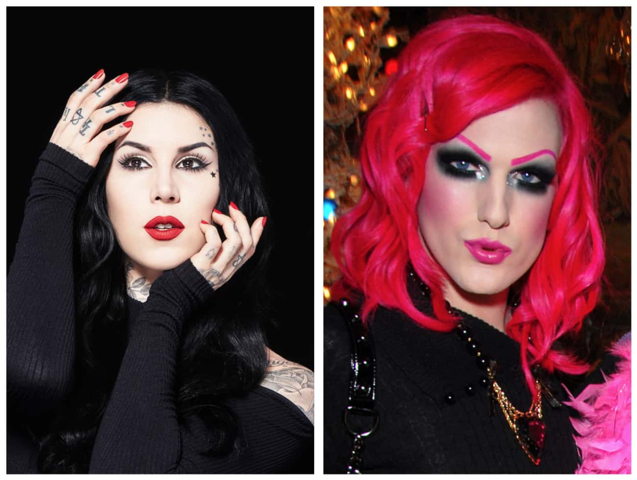 The Two Were BFFs Once Upon A  is listed (or ranked) 1 on the list Here's The REAL Reason Jeffree Star And Kat Von D Are No Longer Friends