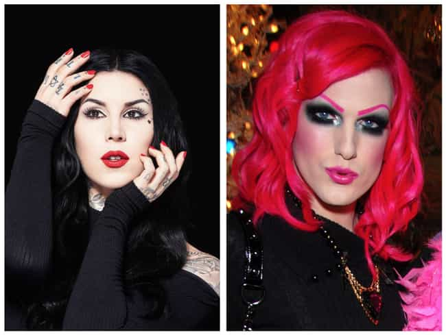 The Two Were BFFs Once U... is listed (or ranked) 1 on the list Here's The REAL Reason Jeffree Star And Kat Von D Are No Longer Friends