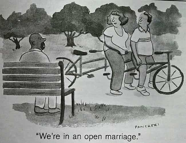 Swinging And Open Marria... is listed (or ranked) 2 on the list 9 Wild Facts About The 1970s Golden Age Of Open Marriages